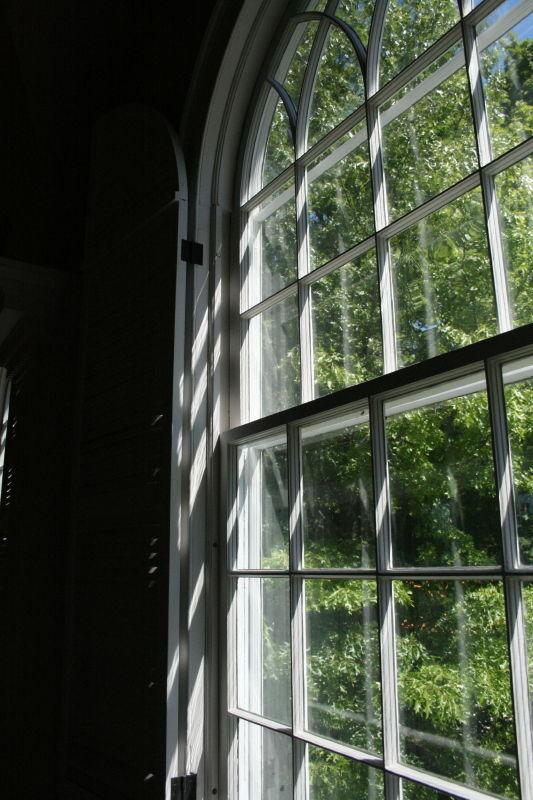 church nh window - 2
