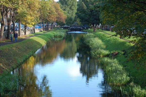 Dublin canal autumn