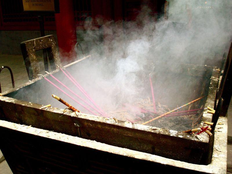 Incense at the Lama Temple