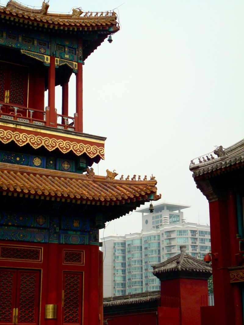 a temple in beijing