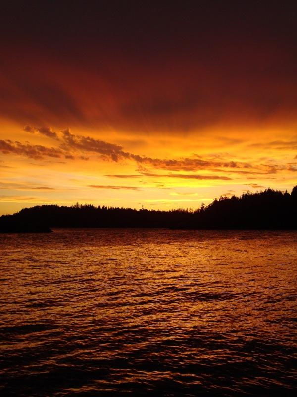 Sunset on the Sunshine Coast