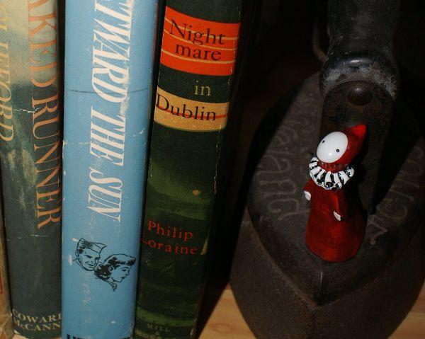 Poppet and old books