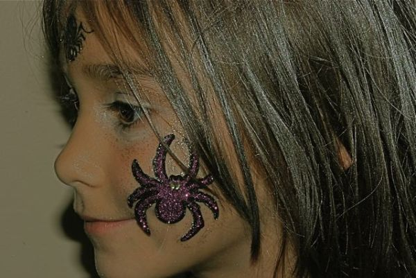 my daughter on halloween