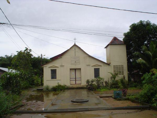 Iglesia en Kaw