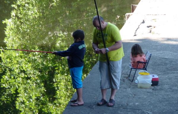 aprendre a pescar - San Pedro do Sul