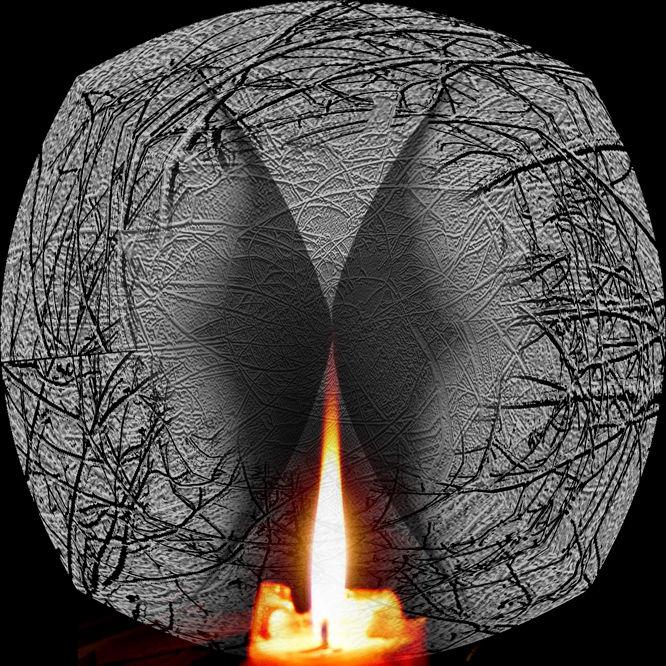 Flame display