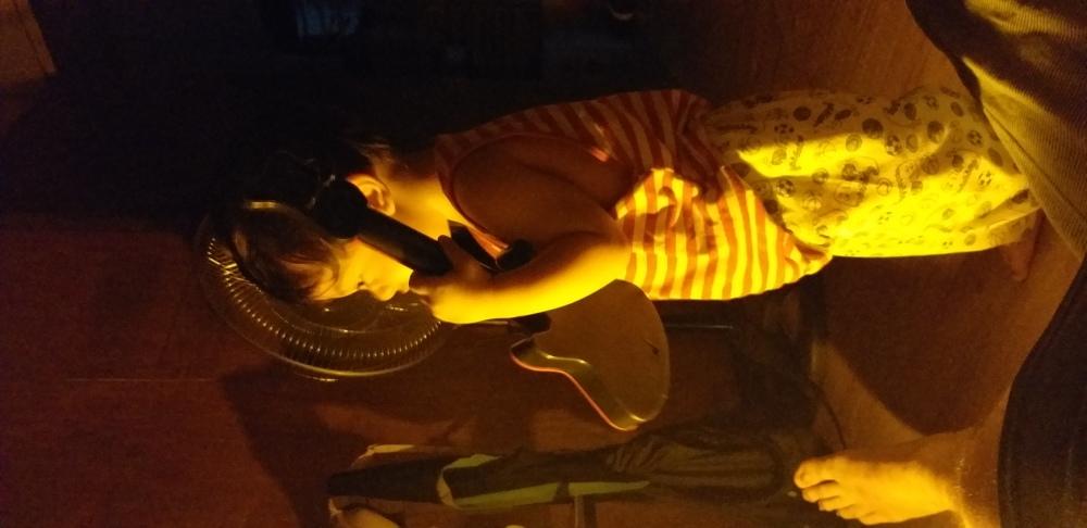 Mi guitara !