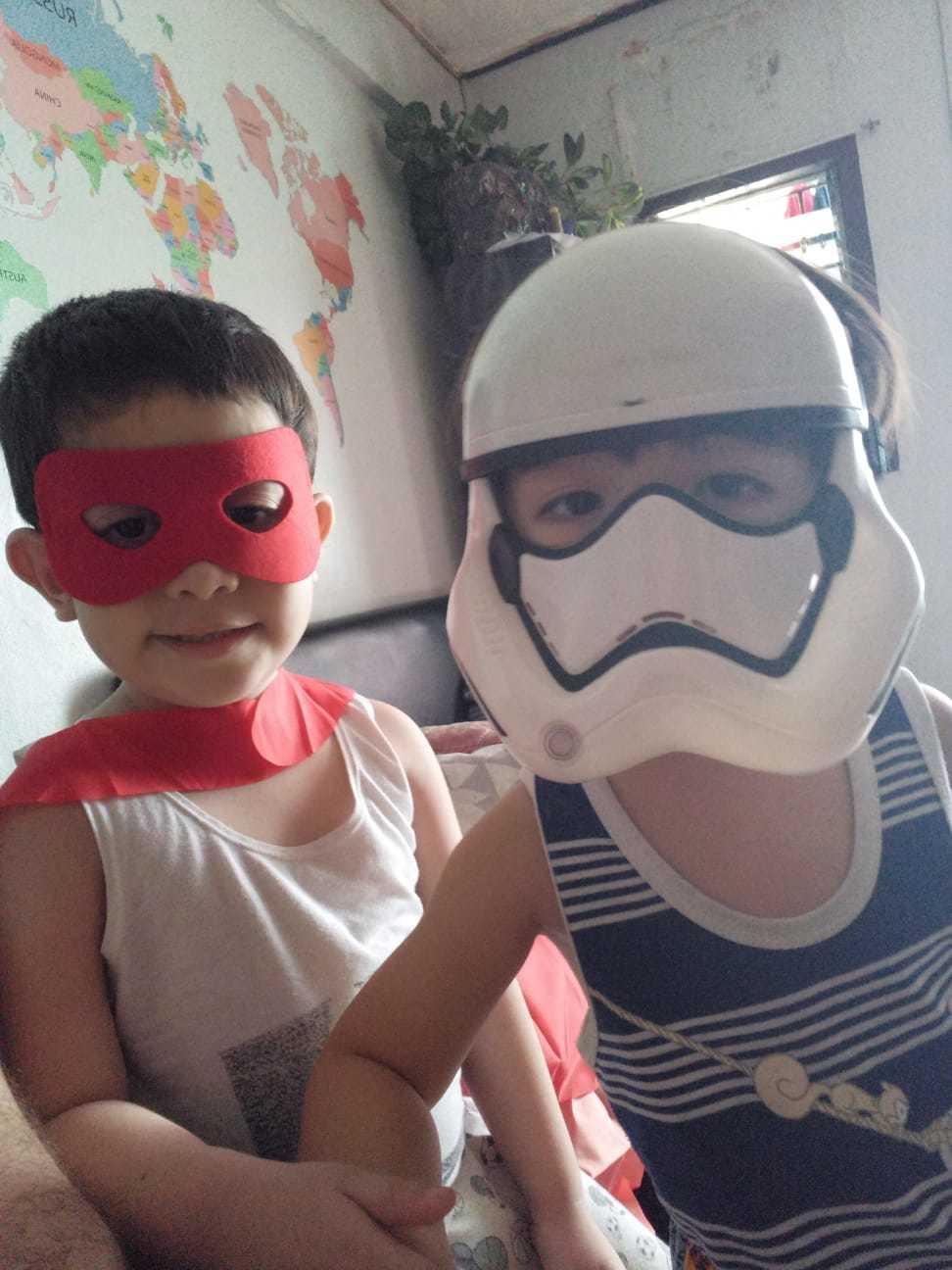 Tio Superman, sobrino Star Wars