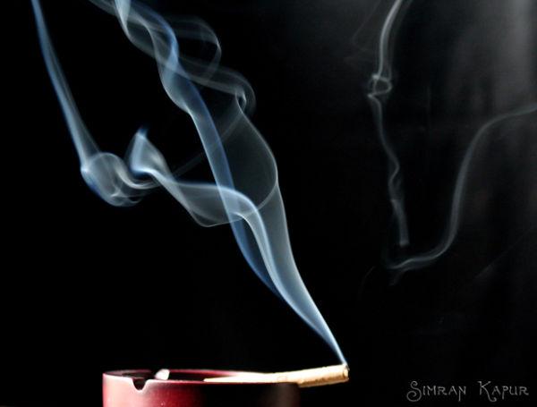 Smokey swirls