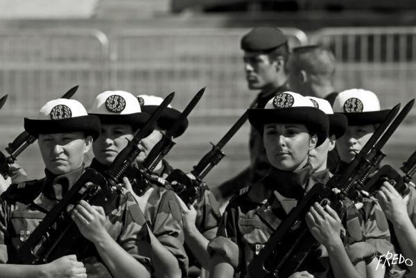 defillé de militaire