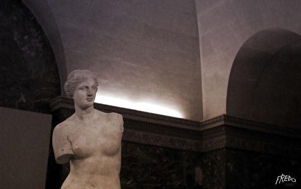 Venus au musee du louvre