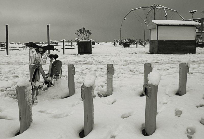 neige sur Marseille