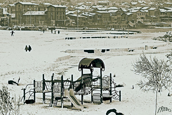 neige à marseille