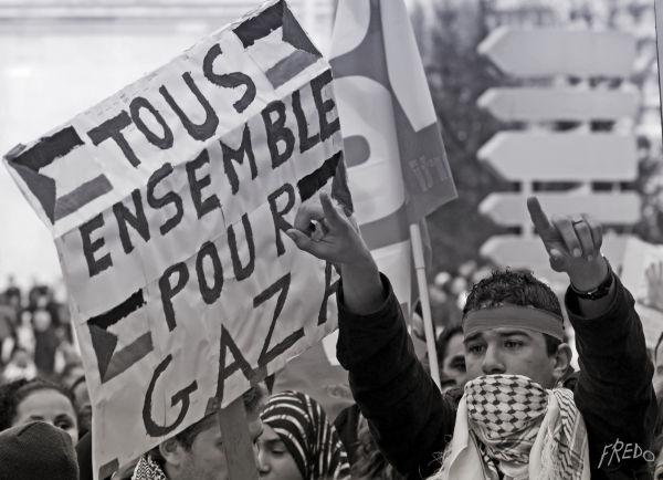 manifestation pour la palestine à marseille