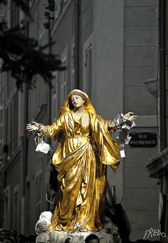 procession à Marseille