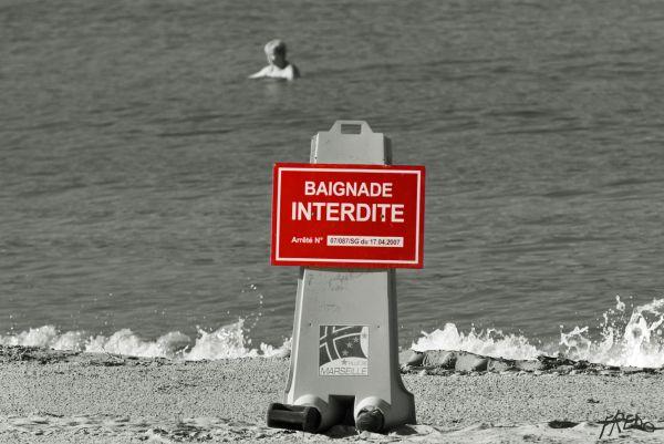 plage interdite à marseille