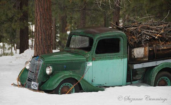 Old Ford Truck, Big Bear Lake, California