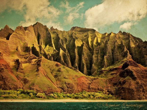 Napali coast, Island of Kauai, Hawaii