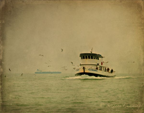 City of Long Beach fishing boat