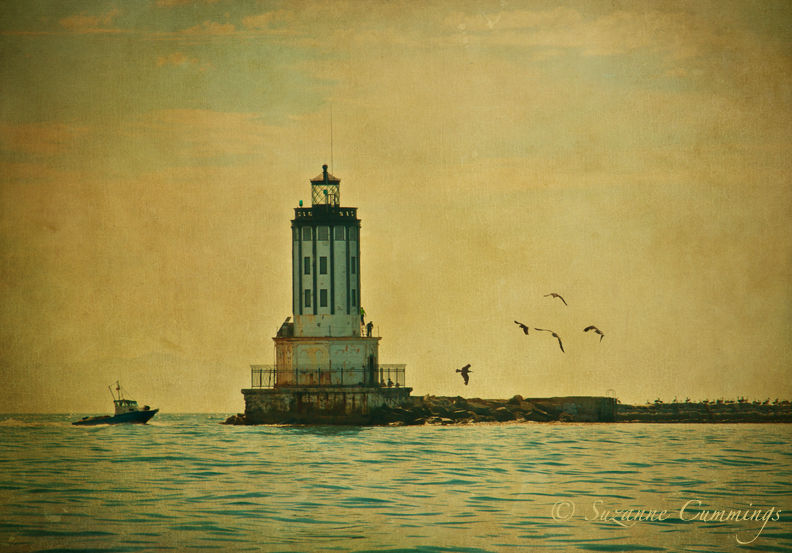 Angel's Gate Lighthouse, Los Angeles Harbor, Calif
