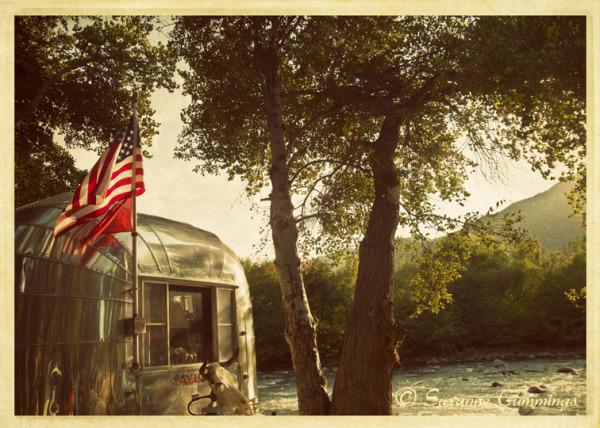 Avion Trailer at Kern River