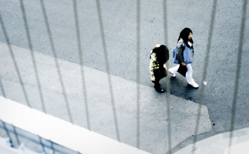 081114 - Walking down the street