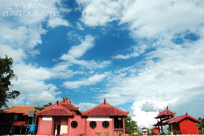 Chinese Temple in Lahad Datu