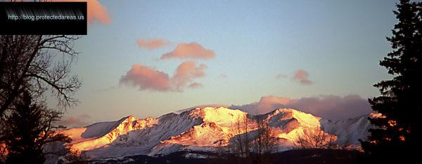 Sawatch Mountain Range