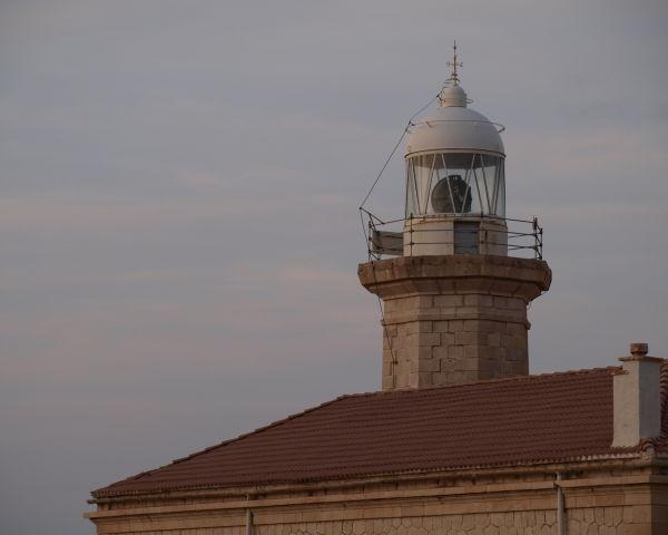 Punta Nati: the lighthouse