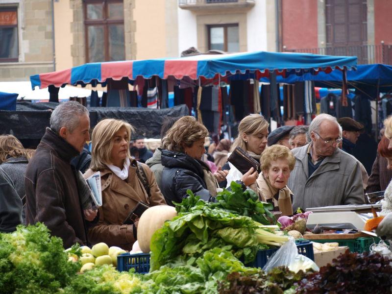 imagen del mercado de Vic