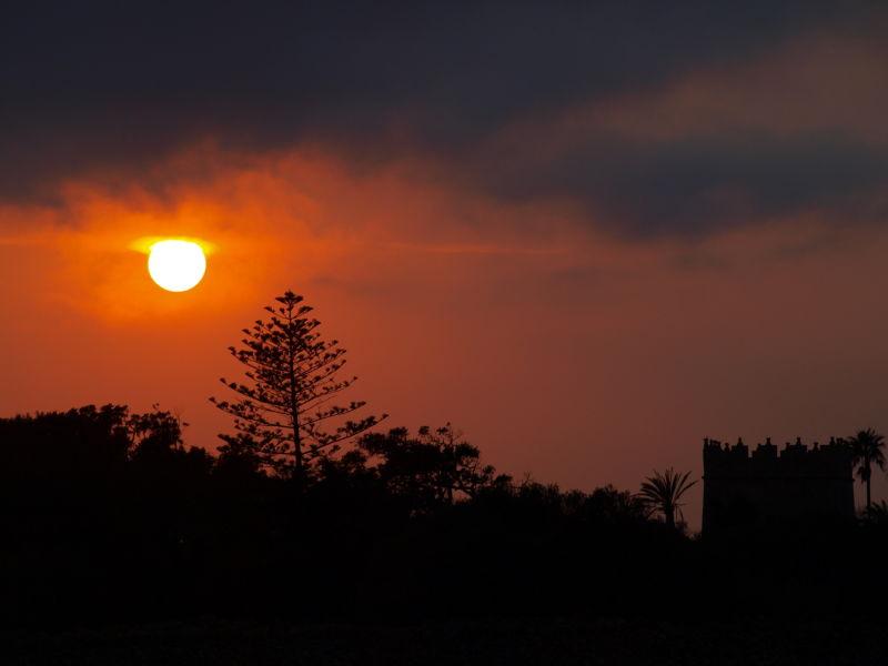 ... posta de sol a Torre Saura