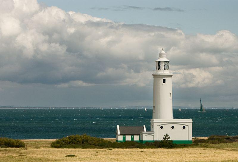 lighthouse hurst castle solent darren marks