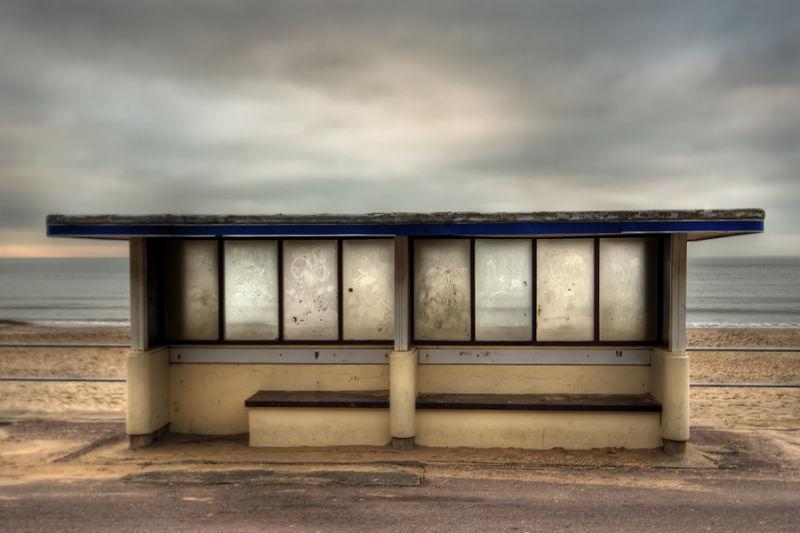 bournemouth beach shelter coast sea darren marks