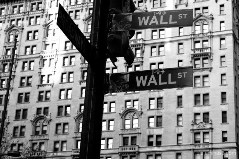 Wall St. at Broadway