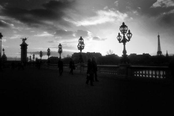 Paris- Le pont Alexandre III