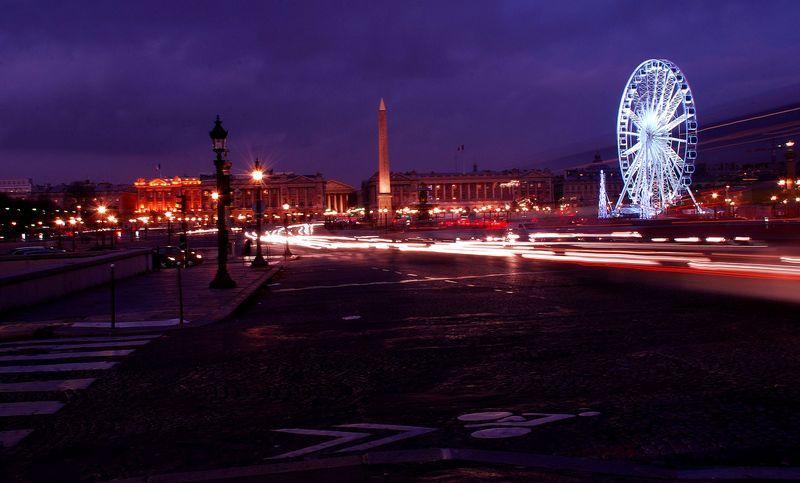 Paris - La place de la Concorde