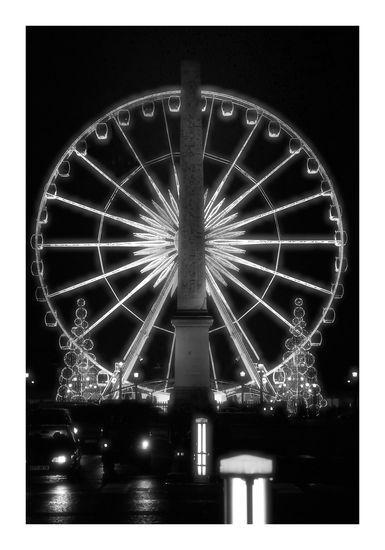L'obelisque et la grande roue