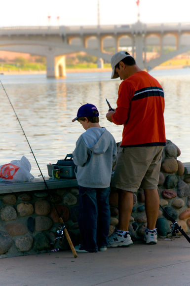 Teach a boy to fish