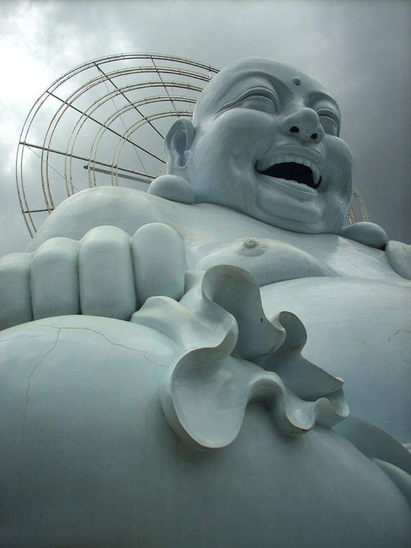 the Laughing Buddha, Central Highlands, Vietnam