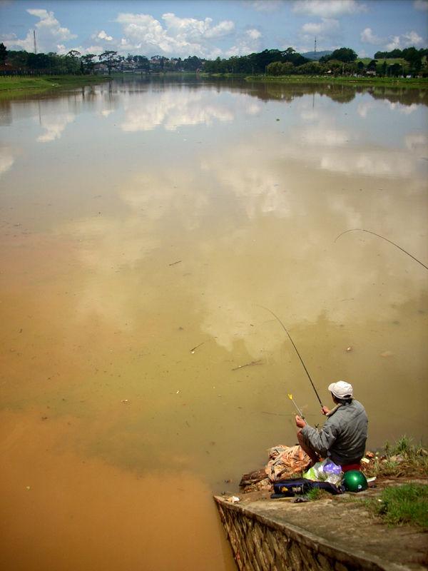 Xuan Huong Lake, Dalat, Vietnam