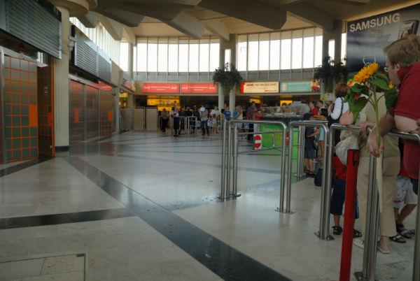 Waiting at the Vienna Airport