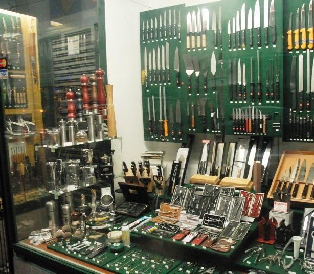 The Knife store in Vienna