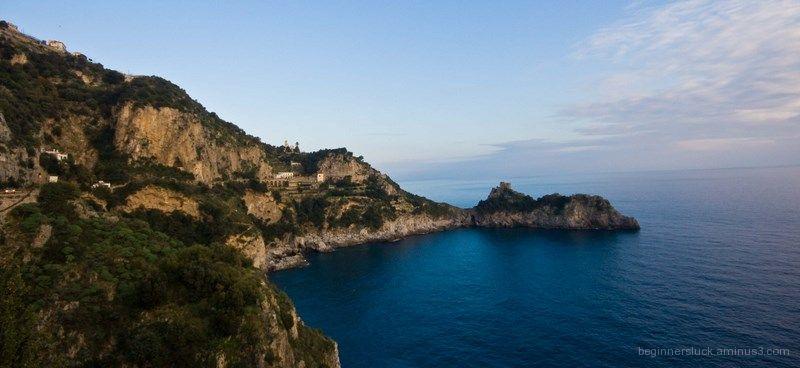 Somewhere on the Amalfi Coast