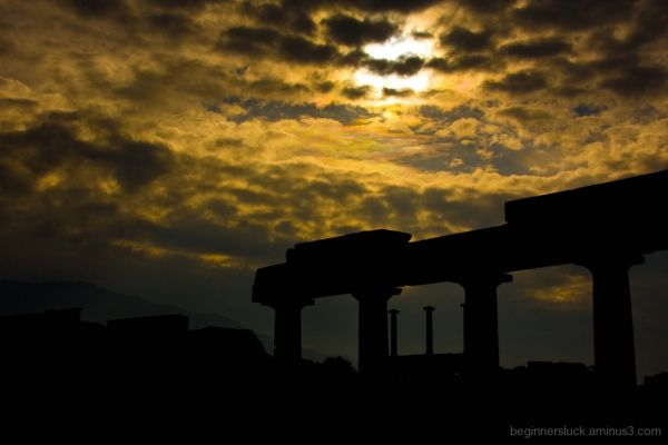 Twilight at Pompeii