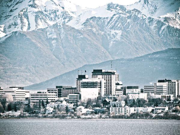 Downtown Anchorage Alaska