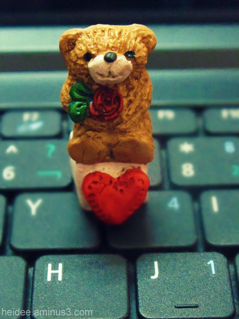 keyboard, love