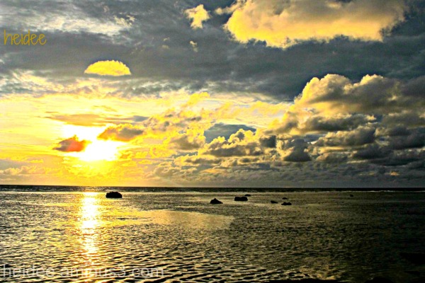 sunset, la union