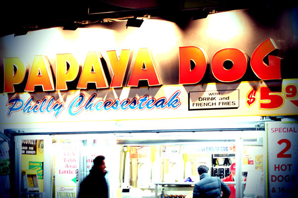 One Day in NYC :: Papaya Dog