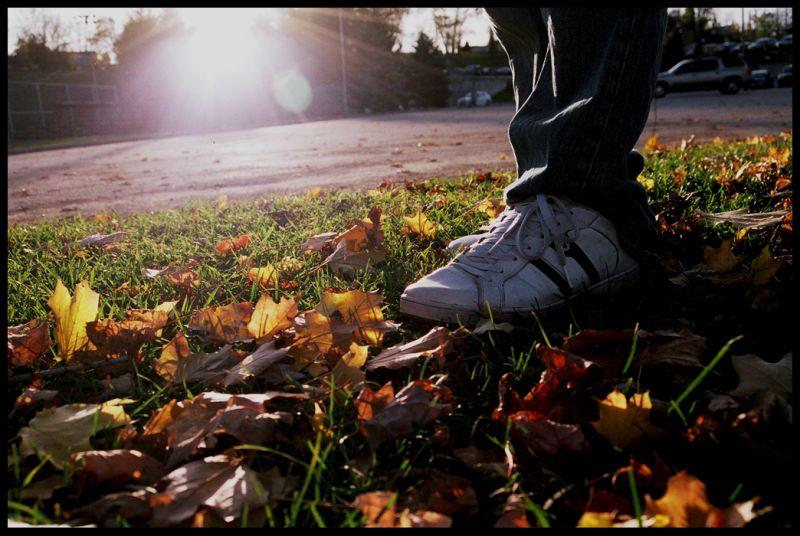 Feet in the Fall