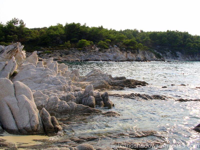 Chalkidiki Kavourotripes Greece Sea